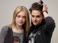 Kristen And Dakote Portraits At Sundance