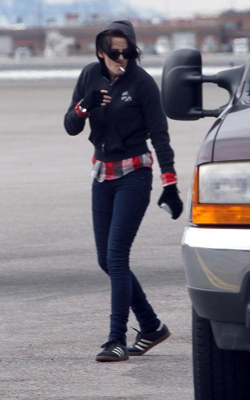 Kristen Arriving in Utah