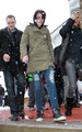 Kristen Braves the snow   at Sundance  - twilight-series photo
