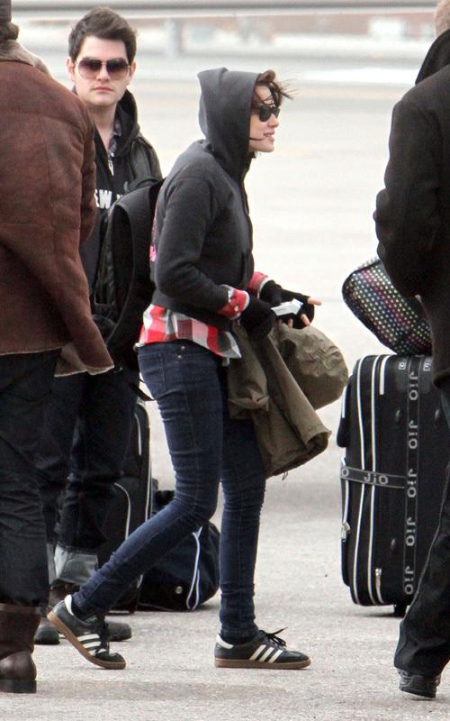 Kristen Stewart arrive à Park City