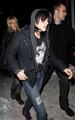 Kristen arriving at Joan Jett concert - twilight-series photo