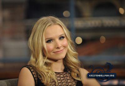 Kristen on The Late Показать With David Letterman