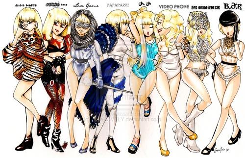 Lady GaGa Line Up