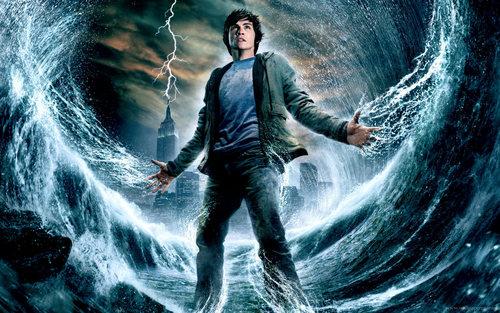 Logan as Percy Jackson
