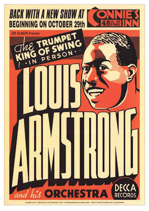 Louis Armstrong (show poster)