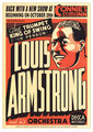 Louis Armstrong (show poster) - jazz fan art