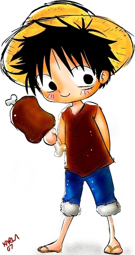 Luffy And His Meat