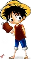 Luffy And His Meat - monkey-d-luffy fan art