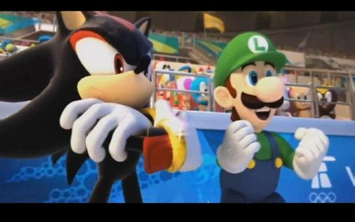 shadow el erizo fondo de pantalla titled Luigi