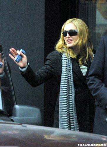Madonna In London (January 21 2004)