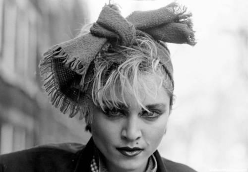 madonna photographed por Joe Bangay in Londres (1983)