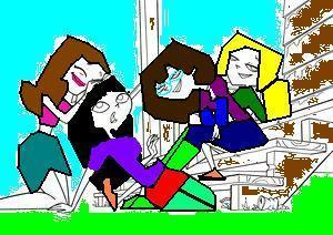 Me and my Friends from school