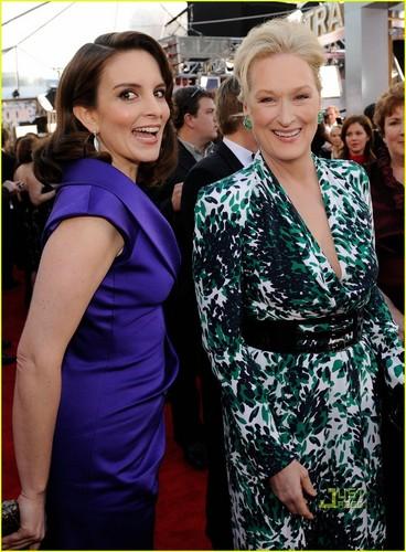 Meryl Streep and Tina Fey SAG Awards 2010