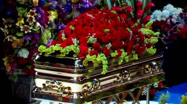 Michael Jackson's funeral :( RIP