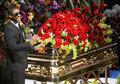 Michael Jackson's funeral :( RIP - michael-jackson photo