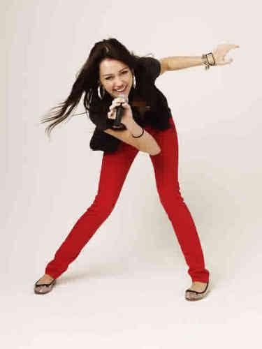 Disney Channel nyota Singers karatasi la kupamba ukuta called Miley Cyrus!
