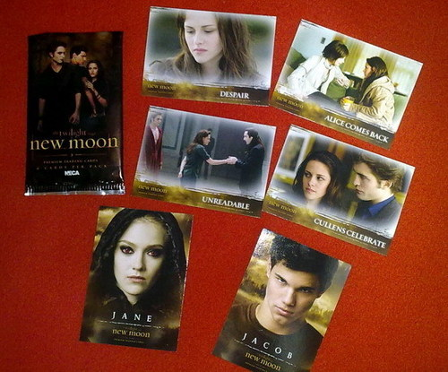 New Moon merchandises at Hot Topic