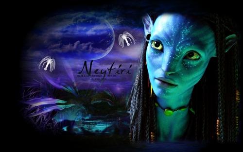 Avatar wallpaper entitled Neytiri