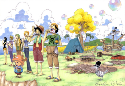 One Piece achtergrond called One Piece