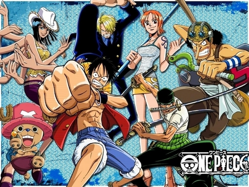 One Piece kertas dinding entitled One Piece