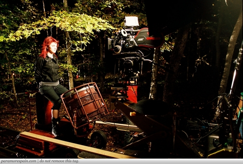 Paramore: Decode muziki Video Shoot