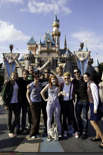 Paramore in Disneyland