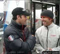 Patrick Dempsey at Test Session for Rolex 24 2010