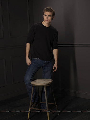 Paul Wesley - Promo Photoshoot