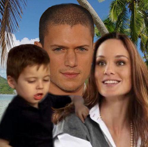 Prison Break - Family Scofield - Michael, Sara, MJ