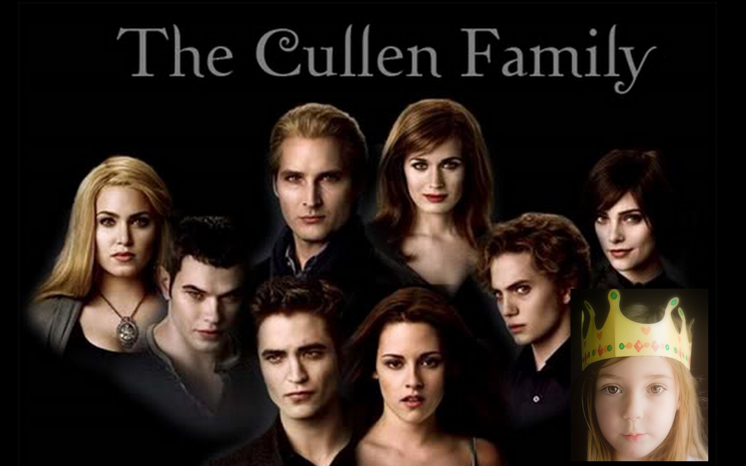 Renesmee and the Cullens - Edward,Bella And Renesmee Photo