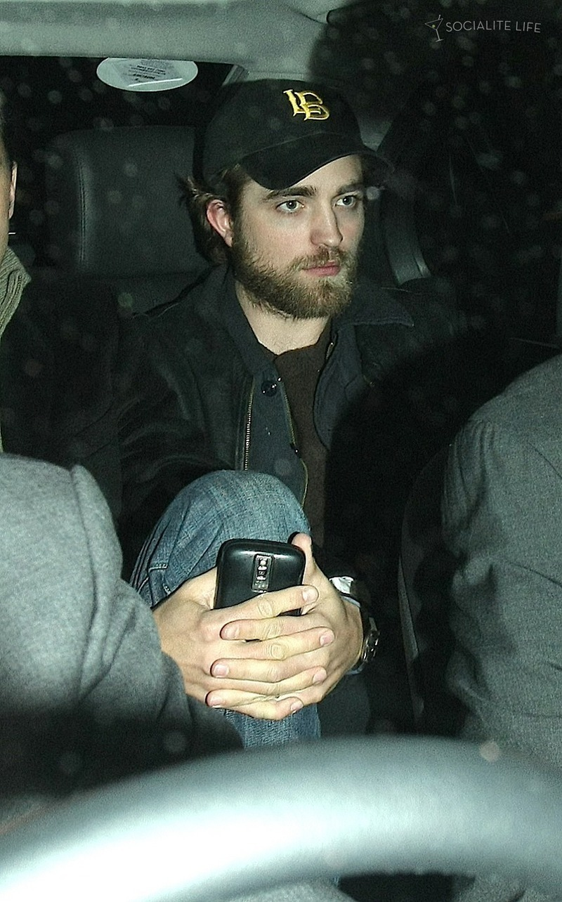 Robert Pattinson Leaving Hope for Haiti