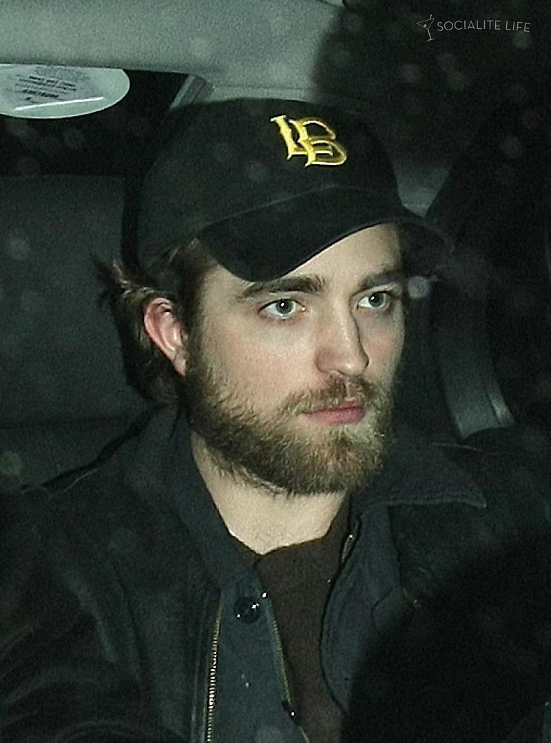 Robert Pattinson Leaving Hope for Haiti