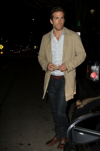 Ryan out in West Hollywood
