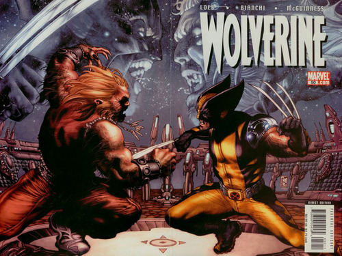 Sabretooth and Wolverine