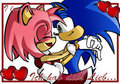 Sonamy Hold Me Tight - sonic-and-amy fan art