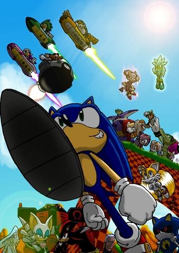 Sonic 'N' Friends!