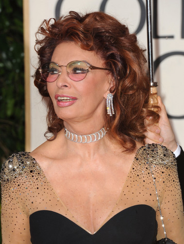 Sophia Loren wallpaper called Sophia Loren - 67th Annual Golden Globe Awards (HQ)