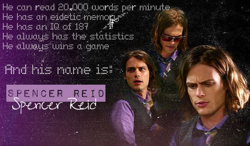 Spencer Reid.