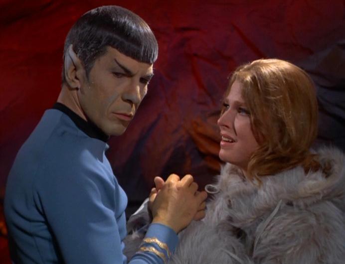 Zarabeth and Mister Spock (2) - YouTube