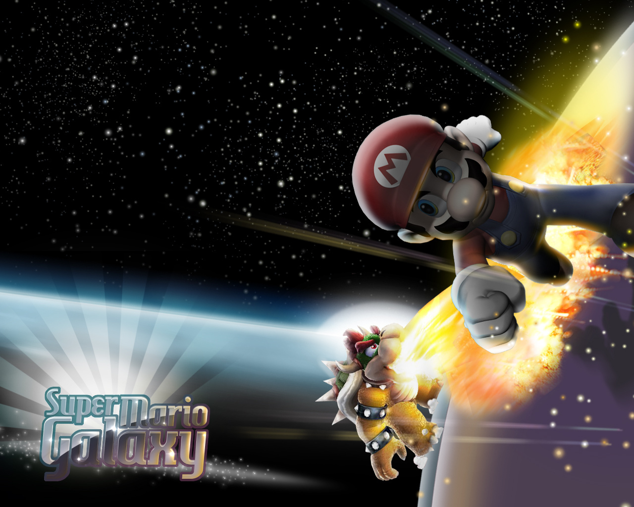 Super Mario Galaxy Super Mario Galaxy Wallpaper 10067434
