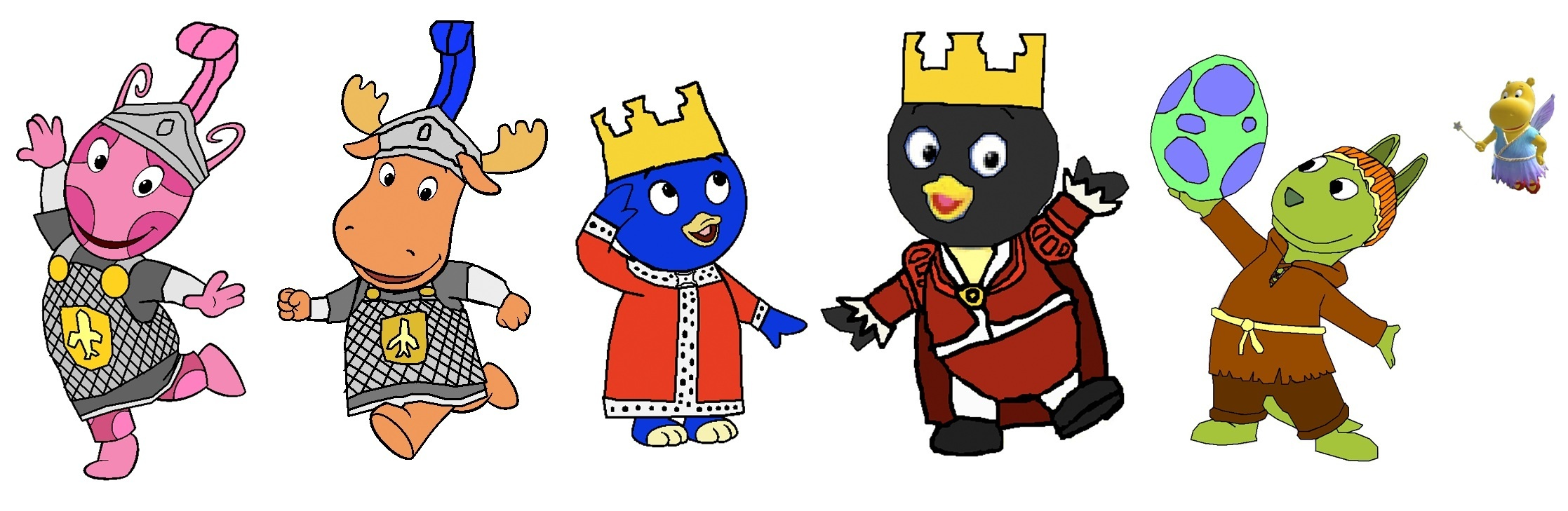 the backyardigans images tale of the mighty knights group hd