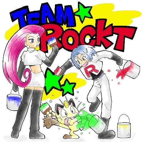 Team Rocket Week: araw 3