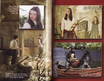 The Chronicles of Narnia - Prince Caspian (2008) > Official Movie Companion Book Scans