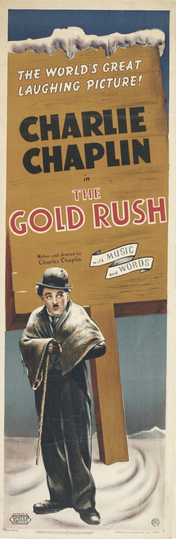 The Gold Rush Posters Movie - Charlie Chaplin Fan Art (10000900 ...