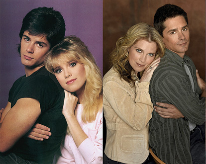 Days of Our Lives wallpaper entitled Then and Now
