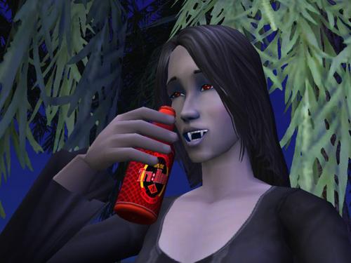 Tru Blood Drinker
