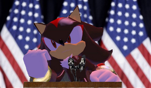 Shadow the Hedgehog fond d'écran entitled Vote for Shadow!