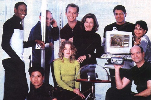 Star Trek Voyager wallpaper entitled Voyager Cast