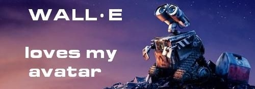 WALL-E loves my 아바타