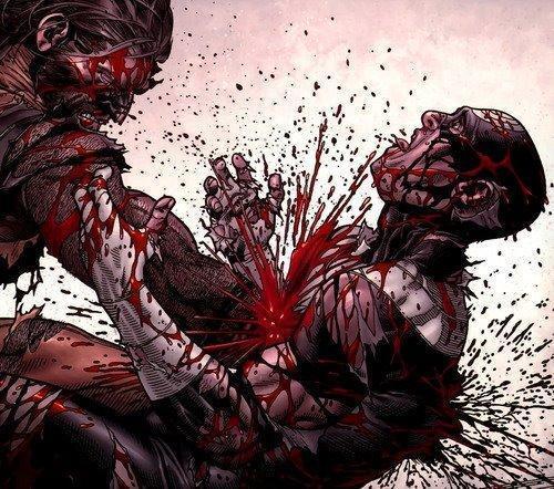 Wolverine vs. Bullseye